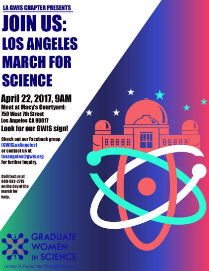 March for Science 2017 flyer