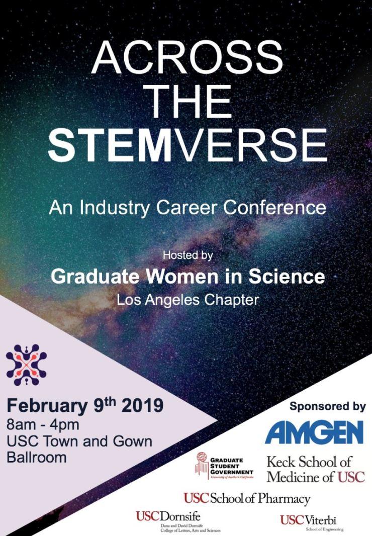 STEMverse 2019 flyer